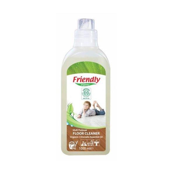 Friendly Organic Универсален препарат за почистване на под - цитронела 1000 мл.